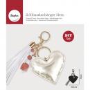 Bastelpackung: Keychain heart, 1 piece