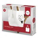 Großhandel Handtaschen: Bastelpackung: Basic Shopper Love, gemischt, 1
