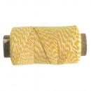Thread, 1mm ø, sun yellow, 10 g