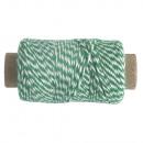 Thread, 1mm ø, meadow green, 10 g