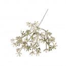 Deko branch iced, light green,