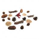 Naturel mix met hoorntjes, 20 stuks