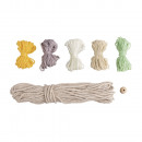 Craft kit: rainbow made of macrame cord + wool