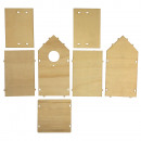 Wood Construction Kit: Birdhouse FSC Mix Credit,