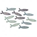 Pesce con codette di legno, 12 pezzi