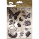 Clear Stamp Butterfly, 15 Stück