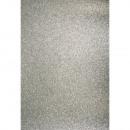 Cartoncino A4: glitter, argento,