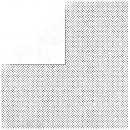 Scrapbooking Paper Double Dot, Blanco,
