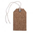 Cork tags, 6 pieces