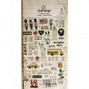 Sticker NewYork Diary, 1 foglio
