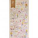 Sticker Disegno Love, 1 foglio