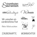 Clear Stamp Weihnachten/Winter,