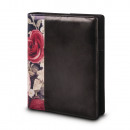 Planner A5, black + flowers, FSCMixCred, 1 piece