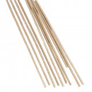 Round wooden sticks,