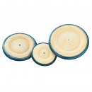wholesale Decoration: Wooden wheel m. Rubber ring,
