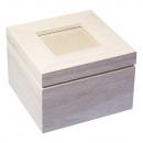 Wooden box with photo lid FSC Mix Credit,
