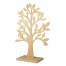 Wood tree FSC Mix Credit, 50cm ø, medium brown,