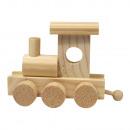 Wooden locomotive, 10x4, 5x7 cm,