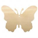 Wood butterfly FSC 100%, 3 pieces