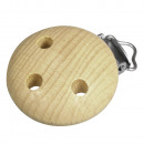 wholesale Child and Baby Equipment: Wood Clip FSC 100%, 37mm ø, natural, 1 piece