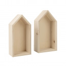 Case con struttura in legno, credito misto FSC,