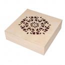 Pudełko drewniane laserowo, FSC Mix Credit,