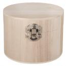 Skrzynia drewniana, FSC 100%, 11 cm ø,