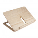 Holz- Tablet- oder Buchständer FSC 100%,
