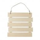 Wooden slatted frame for hanging, FSC MixCred, nat
