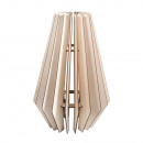 wholesale Wind Lights & Lanterns: Wooden lamella lamp Stockholm, FSCMixCred., Natura