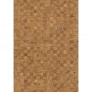 Mosaico de tela de corcho enrollado, 1 rollo