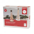 Craft kit: wooden trees to stand, FSCMixCred