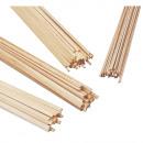 ingrosso Valigie &Trolleys:Barre quadrate in pino,
