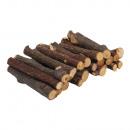 Piezas de rama, natural, 0, 8-1cm ø, 20 piezas