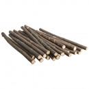 Piezas de rama, naturales, 0, 8-1, 2 cm ø, 20 piez
