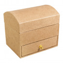 wholesale Jewelry Storage: Paper mache jewelry box, FSC Recycled 100%,