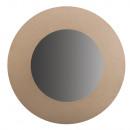 Paper Mache Mirror, FSC Rec. 100%, 30cm ø,