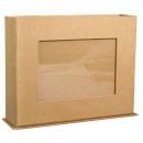 Papierowe pudełko z ramką na zdjęcia, FSC Rec.100%