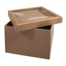 Papierowe pudełko m. Pokrywa shakera, FSC Rec.100%