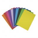 Bastelkarton, farbsortiert, FSC Mix Cred, bunt,