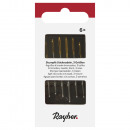 Blunt embroidery needles, 6 pieces