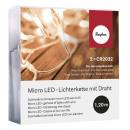 Micro LED-Lichterkette mit Draht, 1 Stück