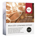 Micro LED string light with wire, 1 piece