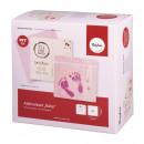Bastelpackung: Abdruckset Baby, pink, 1 Set