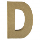 wholesale Crafts & Painting: Paper mache letter D FSC Recycled100%,