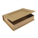 Paper mache book box FSC Recycled 100%,