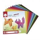Origami leaflets, FSC Mix Credit, 100 sheets