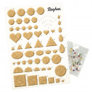 wholesale Microwave & Baking Oven: Quilling template with cork plate,