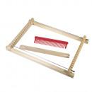 Wooden children's loom,