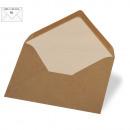 Envelope B6, kraft, FSC Recycled Credit, kraft, 5